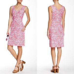 J.McLaughlin Casey Sleeveless Printed Dress